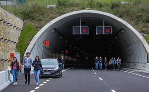 Los túneles de Autzagane se abrirán mañana a las 7.00 horas