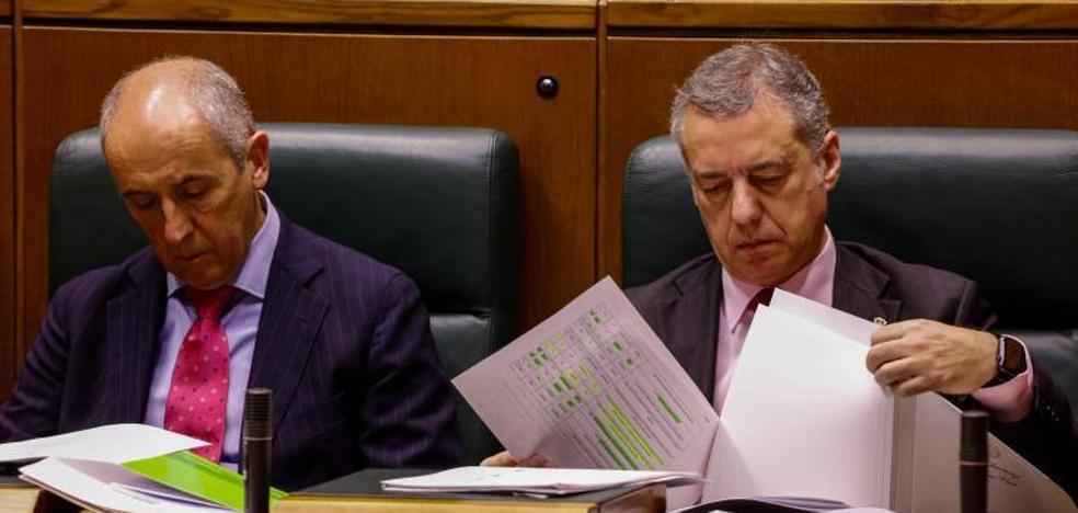 Urkullu dice que los acuerdos con el Estado son «buenos» y Erkoreka critica los «hachazos» de Rajoy al autogobierno