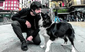 La mascota de... Mikel Losada: «Es ella la que me pasea a mí»