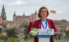 Cospedal envía su apoyo «a los españoles de Navarra» en la víspera del juicio de Alsasua