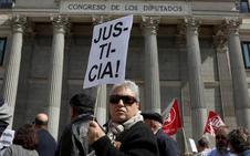 Los jubilados vuelven a reivindicar unas «pensiones dignas» pero con menos fuerza