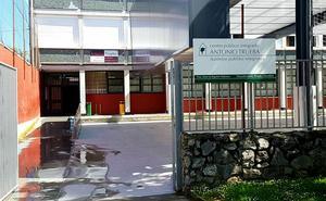 Una fuga de agua obliga a suspender las clases en un instituto de Portugalete