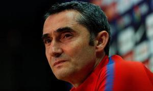 Valverde: «¿El adiós de Iniesta? El club siempre tira hacia adelante»