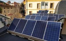 Placas solares eliminarán el gasto de luz en el Ayuntamiento de Santurtzi
