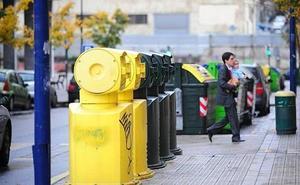Los vizcaínos depositan en el contenedor correcto casi la mitad de la basura