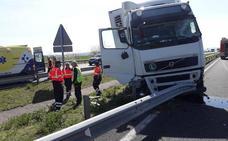 Un camionero muere tras sufrir un problema de salud en la A-1 en Elburgo