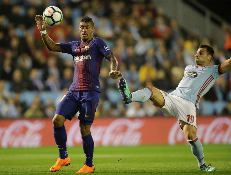 El Celta-Barça, en imágenes