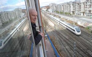 El soterramiento del tren en Vitoria se hará por el trazado actual