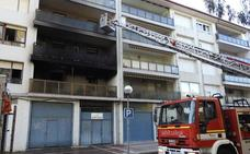 Siete intoxicados por un incendio en un piso en Gorliz