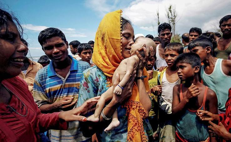 La crisis de los musulmanes rohinyás en Birmania, premio Pulitzer