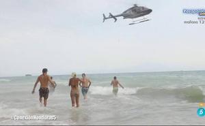 Los 'Supervivientes', evacuados de urgencia