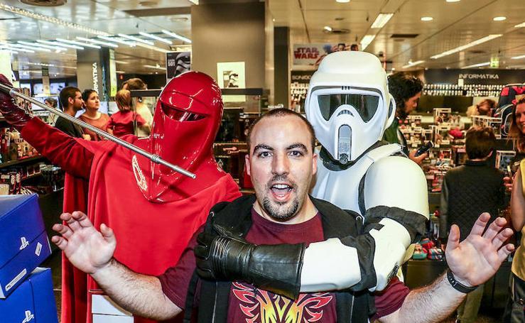 Star Wars aterriza en Vitoria