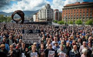 Los jubilados promueven dos grandes marchas en Bilbao los días 5 y 26 de mayo