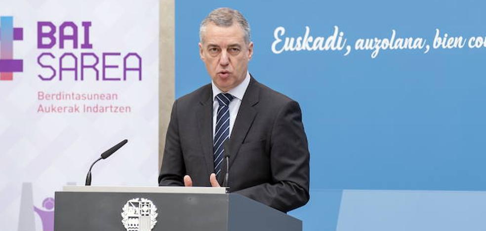 Urkullu defiende la importancia del TAV en el congreso ferroviario internacional de Bilbao