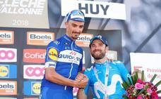 Alaphilippe destrona a Valverde en la Flecha Valona