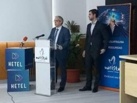 Maristak liderará en Euskadi la formación de expertos para evitar ciberdelitos