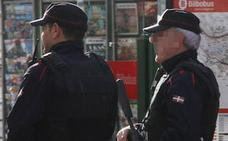 Detenido por asaltar a un transeúnte en la calle Navarra de Bilbao