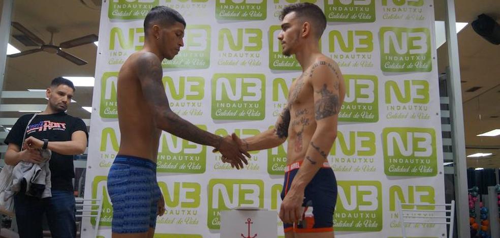 'Jonfer' vs. Juan Huertas, duelo de gigantes esta noche en Fadura