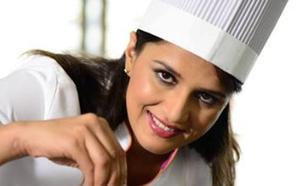 La ganadora de 'Masterchef India' trae los secretos de la comida hindú a Bilbao