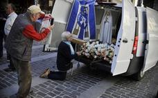 Bilbao da la bienvenida a la Virgen