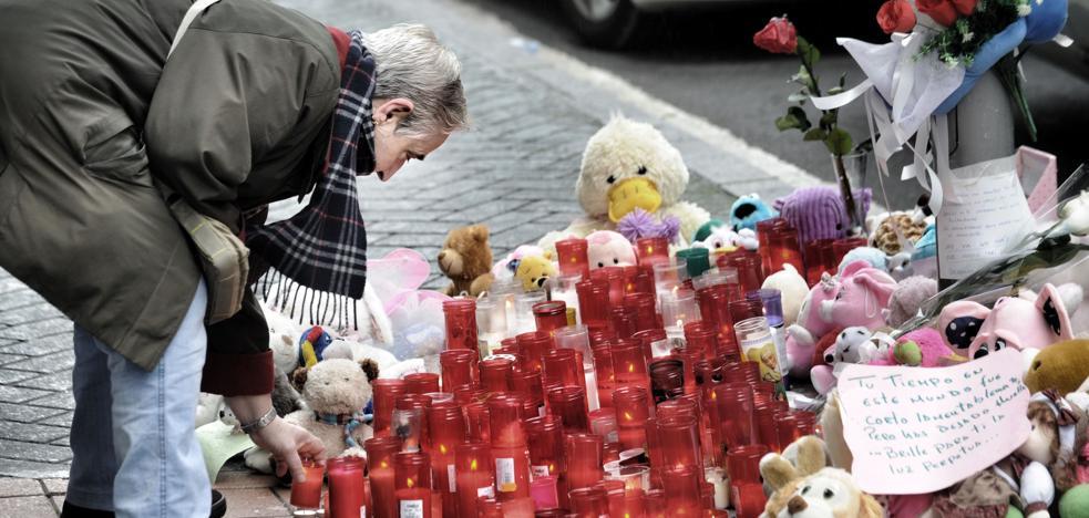 Primeras víctimas en Vitoria después de 22 meses