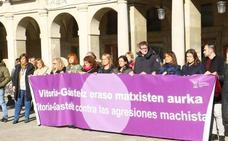 Vitoria se concentra hoy, a las 19.30 horas, en la plaza de España