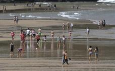 Día de playa y calor en Bizkaia