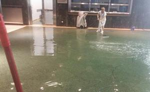 El Hospital de Cruces recupera la normalidad tras sufrir inundaciones
