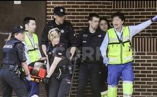 El presunto asesino de su expareja y su suegra en Vitoria, trasladado al hospital al negarse a comer