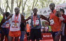 Kenia arrasa en el maratón de Madrid