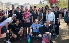 Fiz gana en su categoría el maratón de Londres y logra su reto de los 'Six Majors'