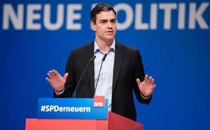 Sánchez alerta desde Alemania contra el separatismo como amenaza para Europa