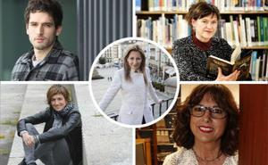Las lecturas favoritas de un quinteto de escritores alaveses
