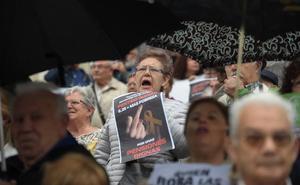 Nueva movilización «por unas pensiones dignas» en Bilbao