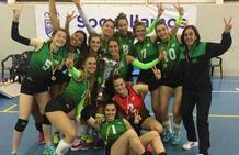 El Club Voleibol Sestao sella el ascenso a la élite nacional