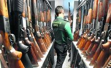 Una subasta de armas tomar