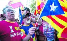 Cataluña, seis meses polarizada por el 'procés'