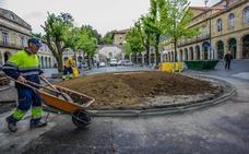 Vecinos de Gernika reclaman otra ubicación para la escultura en homenaje a los gudaris