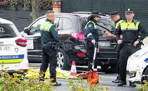 Da positivo en cocaína el chófer del autobús que acabó con la vida de un peatón en Vitoria