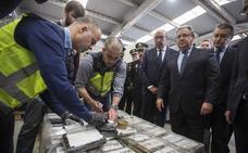 Intervienen en Algeciras el mayor alijo de cocaína de Europa