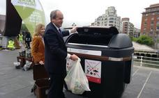 Bilbao extenderá 1.500 contenedores marrones por toda la ciudad para incrementar el reciclaje de orgánicos