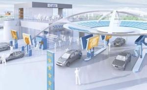 Así será la gasolinera del futuro