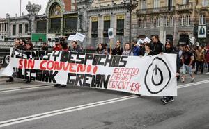Los sindicatos de Oficinas y Despachos de Bizkaia cifran en un 75% el seguimiento de la huelga de hoy