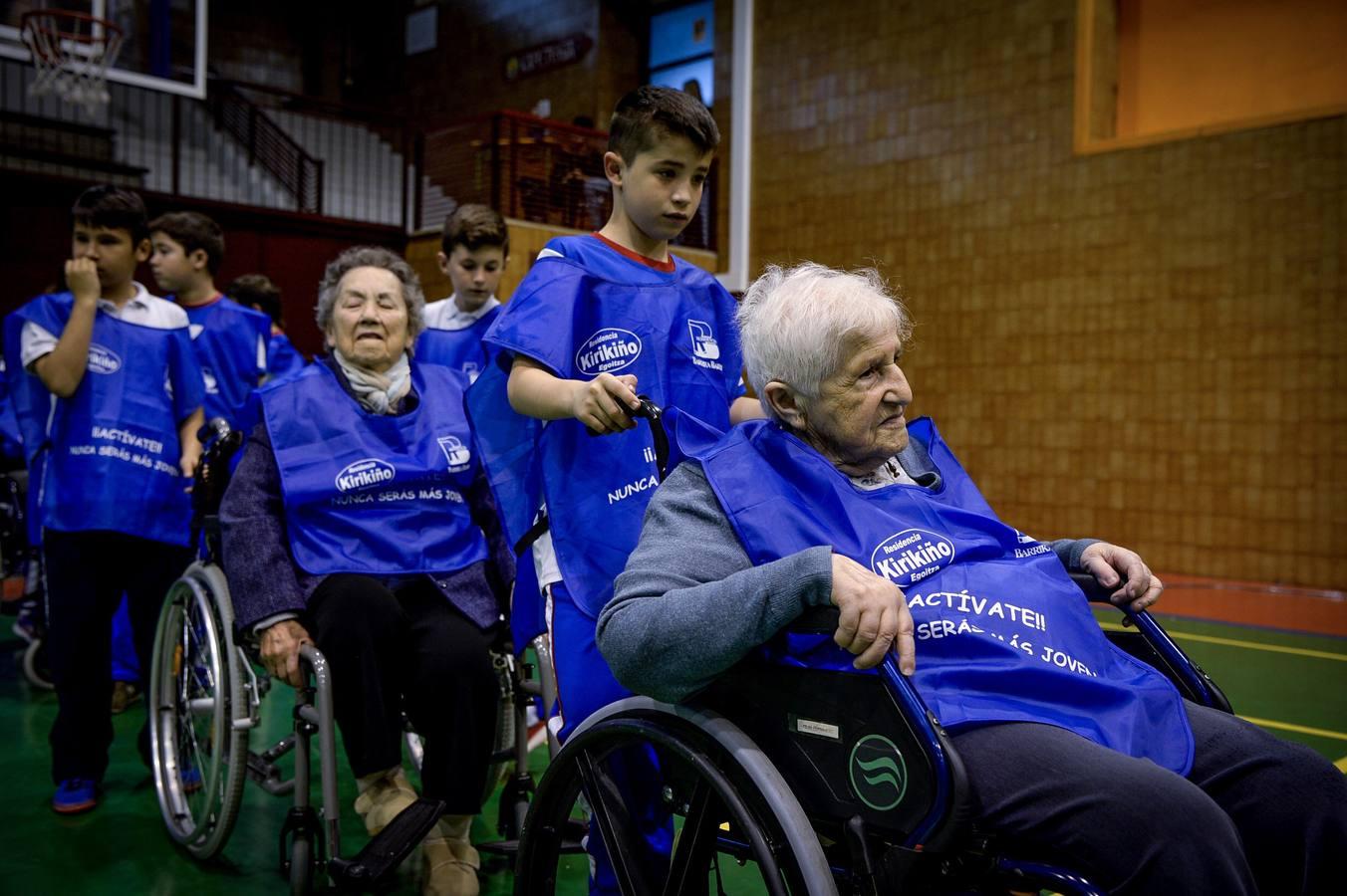 Olimpiadas en silla de ruedas en el Berrio-Otxoa
