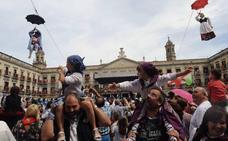 El Ayuntamiento traslada la bajada de Celedón y Neska txiki a la Virgen Blanca