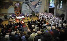 El Papa Francisco se suma a la masiva despedida a Bittor Garaigordobil en Urkiola