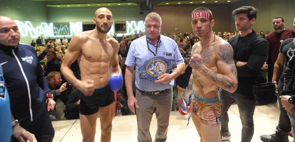 Kerman Lejarraga marca 66,3 kg. y peleará por el Campeonato de Europa