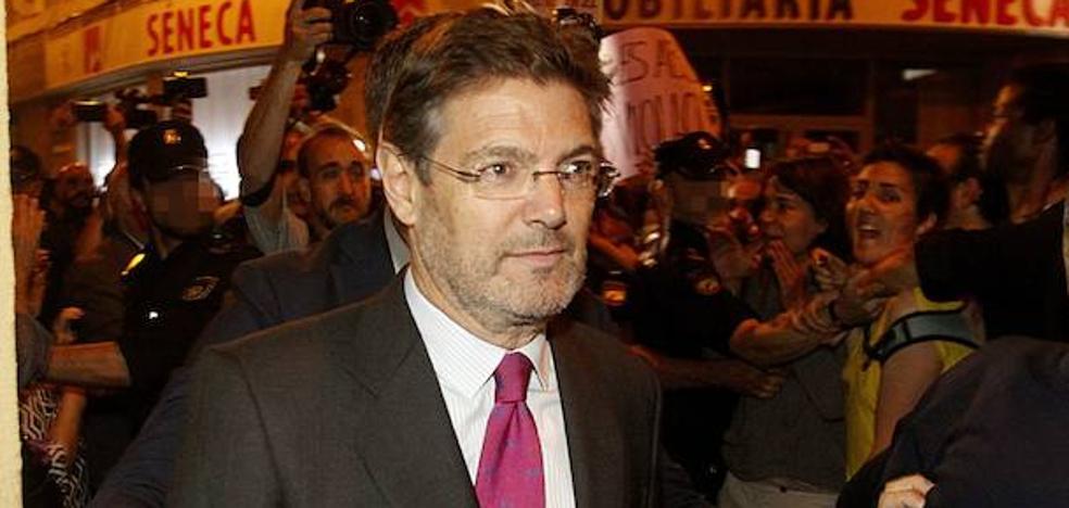 Catalá, sobre el juez que pidió la absolución de 'La Manada': «Todos saben que tiene algún problema singular»