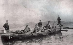 El bote que chocó contra una mina y otras noticias de hace un siglo