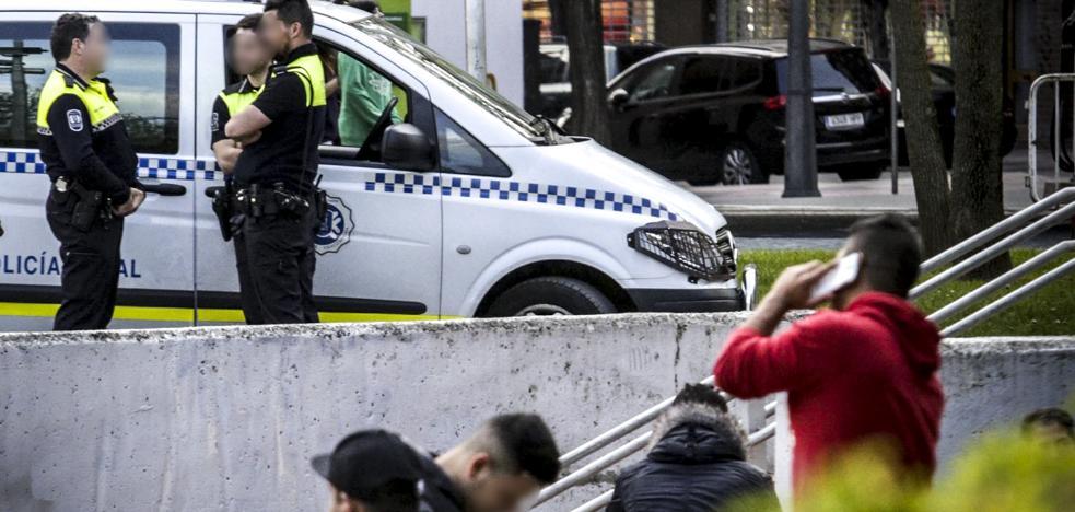 Investigan una pelea entre miembros de dos bandas juveniles en Vitoria